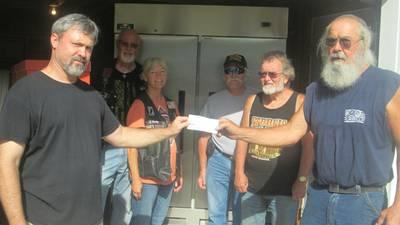 Sandwich ALR presents donation to Sandwich VFW