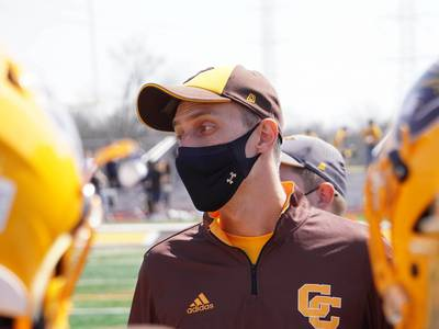Bears reporter Adam Hoge embraces opportunity to coach high school football at Carmel
