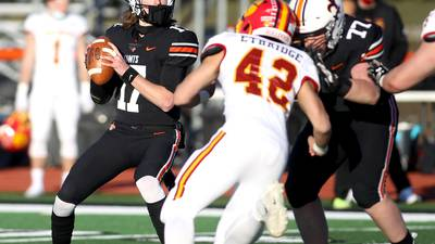 Kane County Chronicle Football Notes: Nathan Hayes, St. Charles East turn the page, get big bounce-back win against Waubonsie