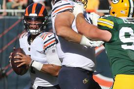 Hub Arkush: Justin Fields' good plays are great to watch. How much are the bad plays costing the Bears?