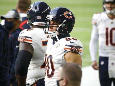 Bear Down, Nerd Up: What exactly is Jimmy Graham doing here?