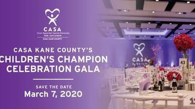 Celebration of Children Gala to benefit CASA Kane County
