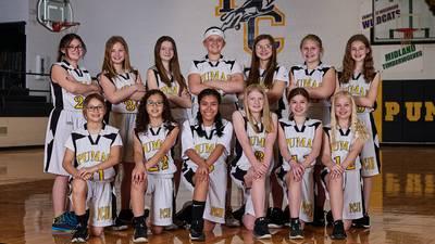 Putnam County seventh-grade girls basketball