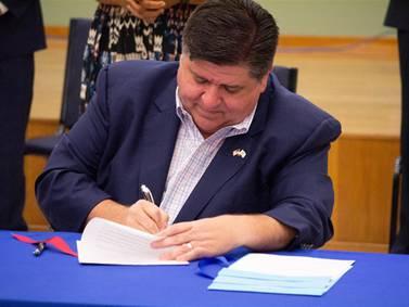 Pritzker signs revised state legislative maps