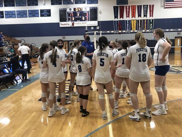 Princeton wins, Bureau Valley falls in regional semifinal play