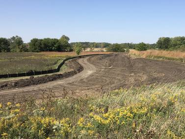 Construction now underway on trail near Montgomery library