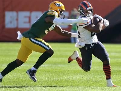 Bears rookie Khalil Herbert proves run game is in good hands