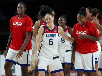 Americans go for gold in basketball, volleyball, water polo