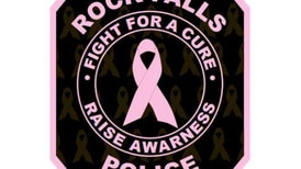 Rock Fall Police raising money for Pink Heals