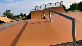 Lake in the Hills' Sunset Skate Park reopens with new equipment; basketball court added to Cattail Park