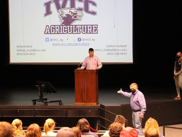 IVCC agriculture open house attracts more than 35 participants