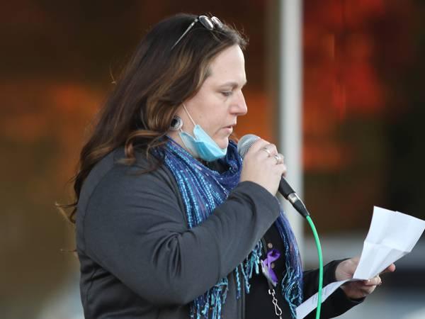 Photos: Safe Passage hosts Domestic Violence Vigil