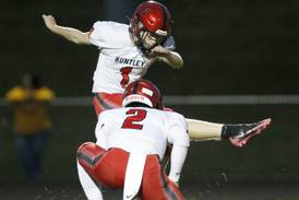 Huntley's Mason Wojtas is an ambidextrous difference-maker