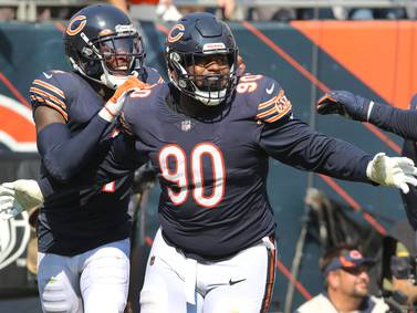 Bears force turnovers on 4 consecutive possessions vs. Bengals