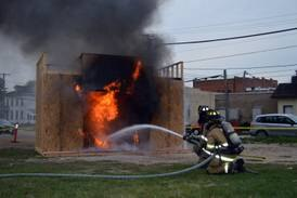 Polo firefighters host open house, hog roast