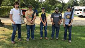 Photo: LaMoille FFA members attend fall trap shoot