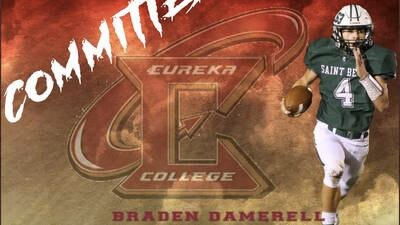 St. Bede's Braden Damerell commits to Eureka
