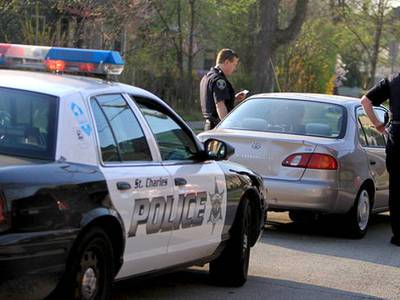 St. Charles Police make two DUI arrests during traffic enforcement campaign
