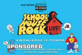 Raue Center Heads Back to School with Schoolhouse Rock Live! Jr.