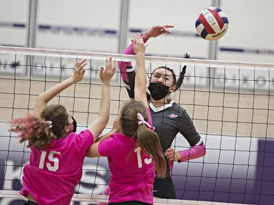 Volleyball: Rock Falls answers Dixon rallies, pulls away for Big Northern win