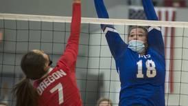 Photos: Oregon vs. Newman volleyball