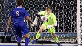 Boys Soccer: Alexander Curtis makes critical save in return to goal, helps preserve St. Charles North's 0-0 tie with Wheaton North