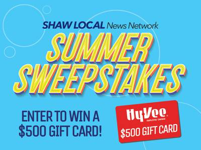 You could win a $500 HyVee Gift Card