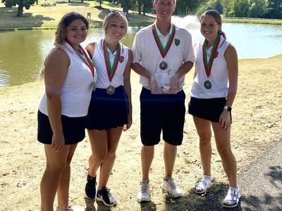 L-P girls golf three-peats at own scramble