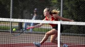 Girls Tennis: Bella Lins, Leah Puttin rally to win doubles title, help lead Batavia to sectional crown