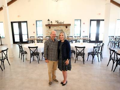 Former Johnson's Statuary in downtown St. Charles now home to a wedding and event venue